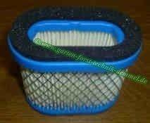Luftfilter B+S Vgl. Nr. 697029 / 690610 / 498596 / 2057315 oval für Motor Intek Pro 5,5 u. 6,5 PS