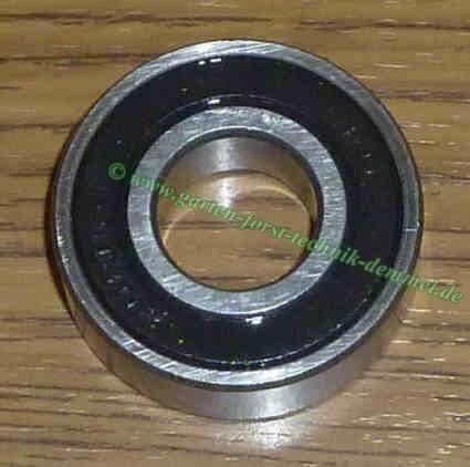 Kugellager 6005 2RS, Durchmesser innen 25 mm / außen 47 mm, Höhe 12 mm