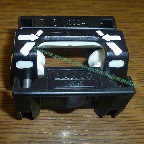 Feillehre Bahco 325. f.Feilen 4,8 mm, Feilhilfe m.Feilführung und Tiefenbegrenzerlehre, Gew. 30 gr.