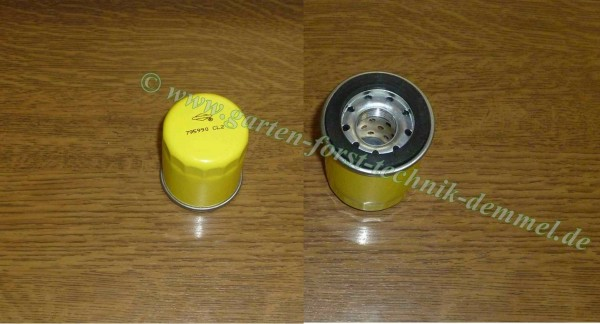 Ölfilter B+S Vgl.-Nr. 795990 (59 x 52 mm Gew.18 mm) für B+S-Motor für Sabo-Rasenmäher 52-45P m.A.