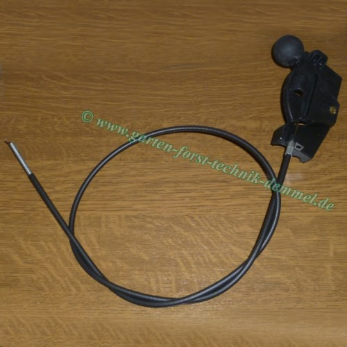 Bowdenzug Sabo (Gas) Vgl.-Nr. SA34805 f.Sabo-Rasenmäher 43-4 Economy (SA195) / 43-130 H / u.a. (s.Be