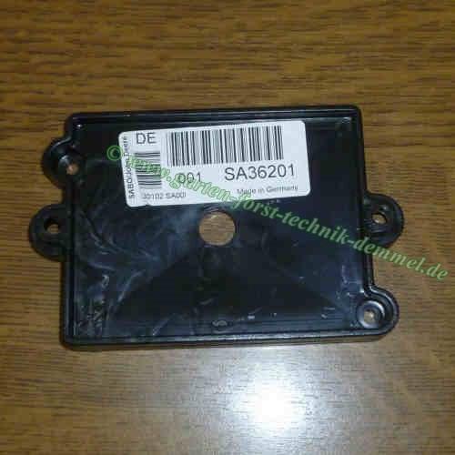 Batterieaufnahme Sabo Vgl.-Nr. SA36201 für Sabo Rasenmäher 43-4 E (SA178) / 47-VARIO E (SA369)