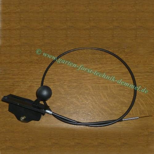 Bowdenzug Sabo (Gas) mit Schaltgehäuse Länge Bowdenzug 140 cm Vgl.-Nr. SA12922 für Sabo-Rasenmäher 4