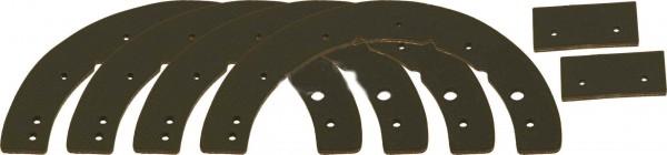 Gummilippe MTD Paddelsatz Vgl.-Nr.731-0780A, 731-0780, 731-0781, 731-0781A, 731-0782, 753-0613 für M