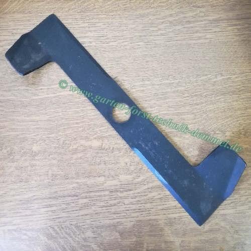 Messer Viking Vgl.Nr. 6101 702 0100 Länge 42 cm, Zentralbohrung 32 mm, Stärk 3 mm für Rasenmäher 436